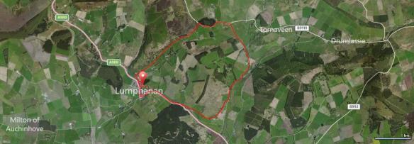 Lumphanan Detox 10k route