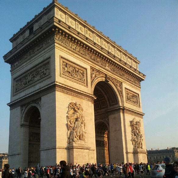 Arc du Triomphe, from the other side.