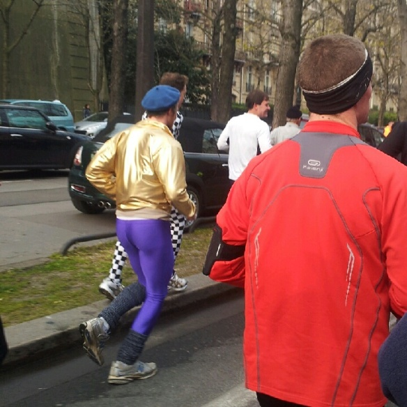 I approve of every aspect of this man's outfit.