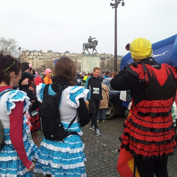 The Spanish were out in force!