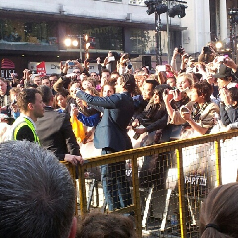 Bradley Cooper at the Hangover 3 premier in London