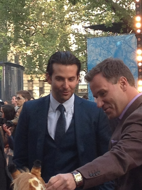 Bradley Cooper - still at the premier for the Hangover 3 in London