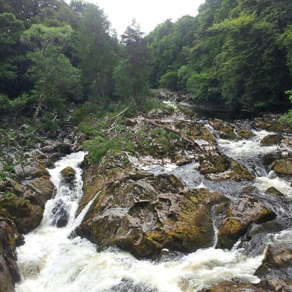 Falls of Feugh, near Banchory