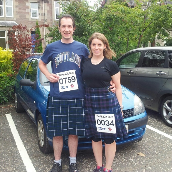 Before the Perth Kilt Run