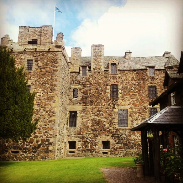 Elcho Castle from the front