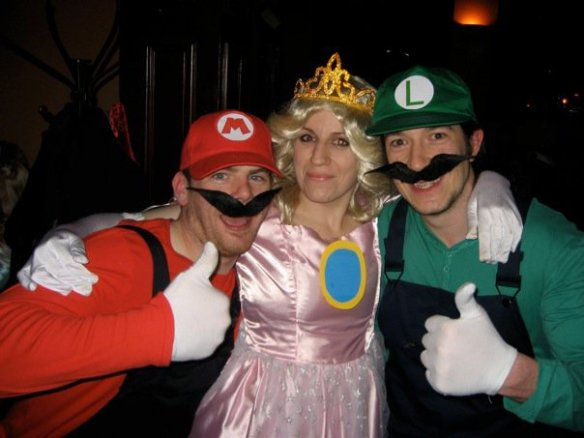 Dylan (Mario), me, and Ian