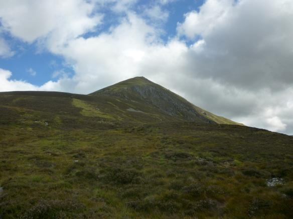 Beginning the ascent on Ben Wyvis