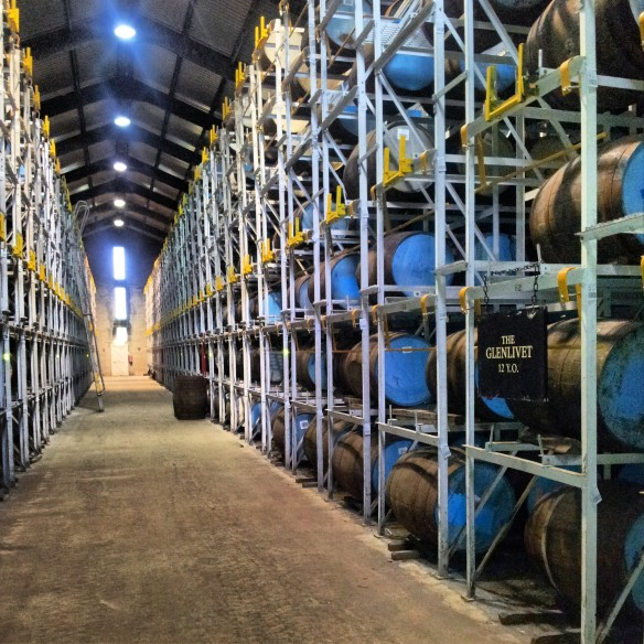 Inside one of the 'small' warehouses...