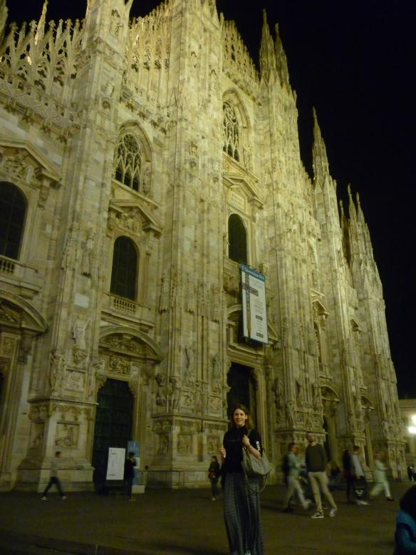 Outside Il Duomo, Milan