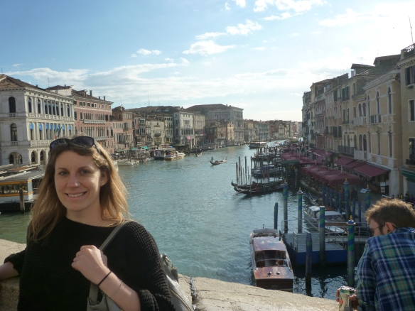 On the Rialto bridge!