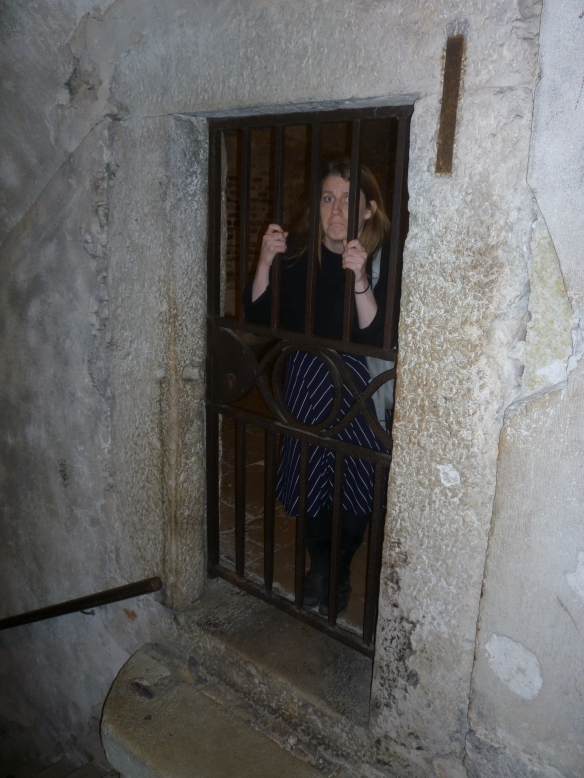 In one of the cells