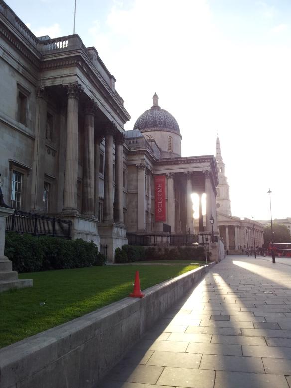 Morning 4 - 5k to Trafalgar Square and  back