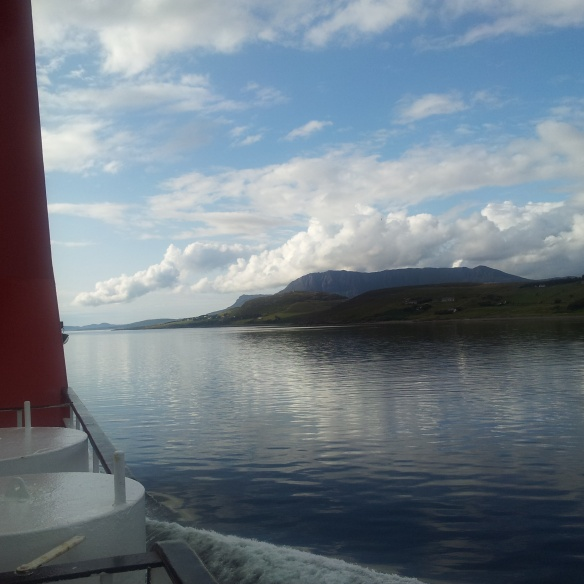 Leaving Ullapool