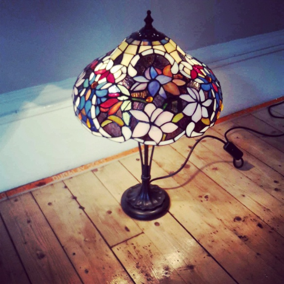 What's up, Tiffany lamp?