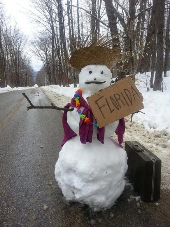 I hear ya, snowman.